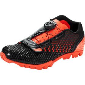 Bontrager Rhythm MTB Shoes Herren black/roarange